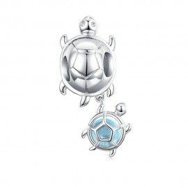 Charm pendente in argento Tartarughe