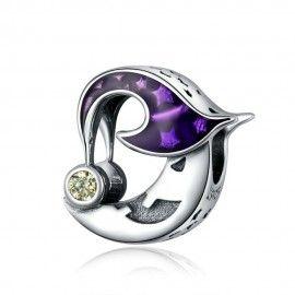 Charm in argento Luna diabolica