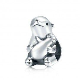 Zilveren bedel Ijsbeer