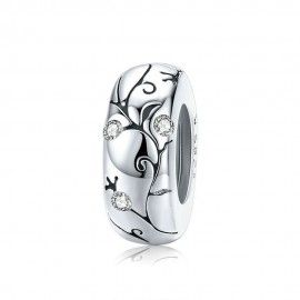 Sterling silver charm Classic