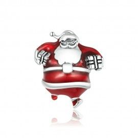 Sterling silver charm Santa Claus