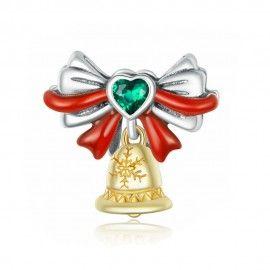 Zilveren bedel Jingle Bell