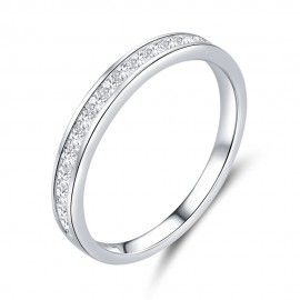 Anello in argento sterling Lucente