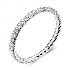Sterling zilveren ring Liefde