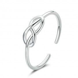 Sterling zilveren ring Oneindigheid