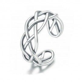 Sterling zilveren ring Retro