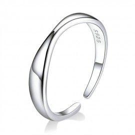 Sterling zilveren ring Eenvoud