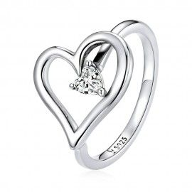 Sterling zilveren ring Wens
