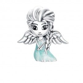 Sterling silver charm Snow fairy