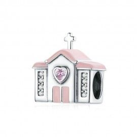 Sterling silver charm Sweet cottage