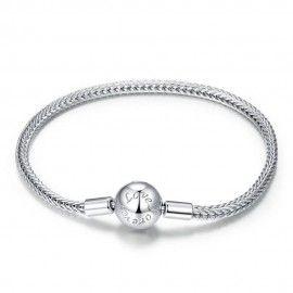 Bracciale in argento Sterling Amore per sempre