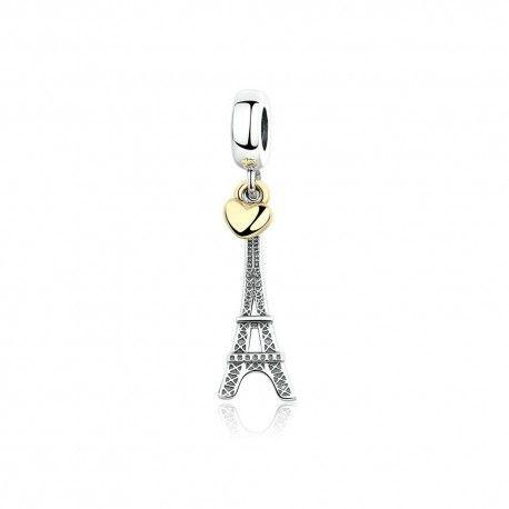 Zilveren bedel Eiffeltoren