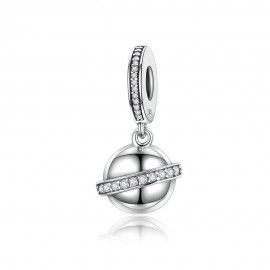 Sterling silver pendant sky planet