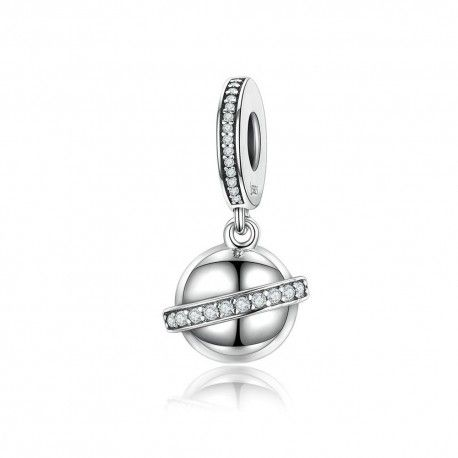 Sterling silver pendant sky planet