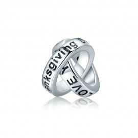 Sterling silver charm Thanksgiving gift