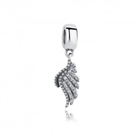 Sterling silver pendant Majestic feather