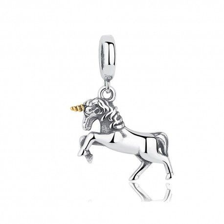Sterling silver pendant Unicorn