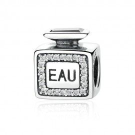 Sterling silver charm Perfume