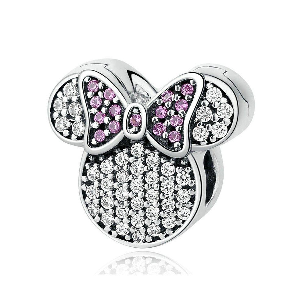 Charm en argent Minnie mouse