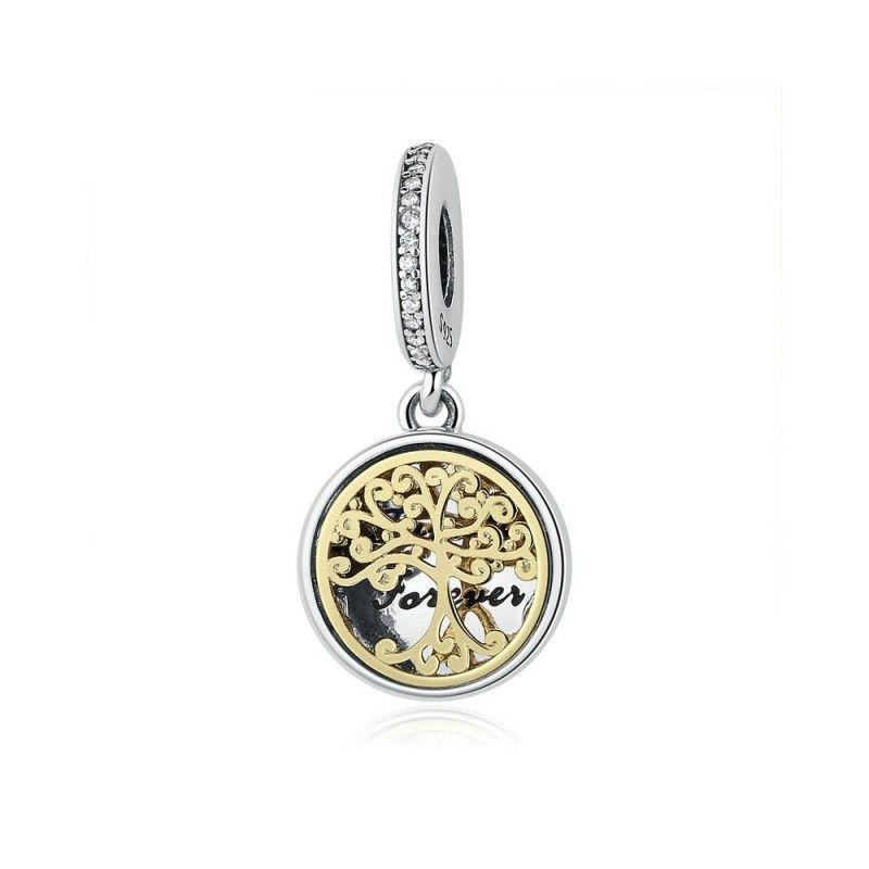 31d4f2114 ... Charm Family Forever Sterling silver pendant Family forever .