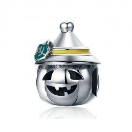 Charm in argento Halloween