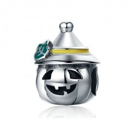 Sterling silver charm Halloween