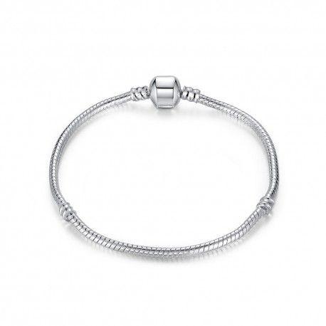 pulseras abalorios plata tipo pandora