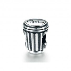 Sterling silver charm Coffee cup