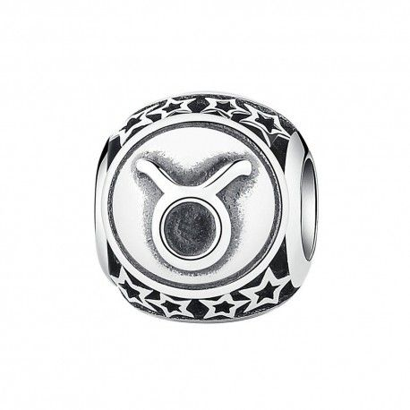 1e416c644 Sterling silver charm Zodiac sign Taurus-Mijn bedels-for your Pando...