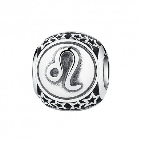 Sterling silver charm Zodiac sign Leo