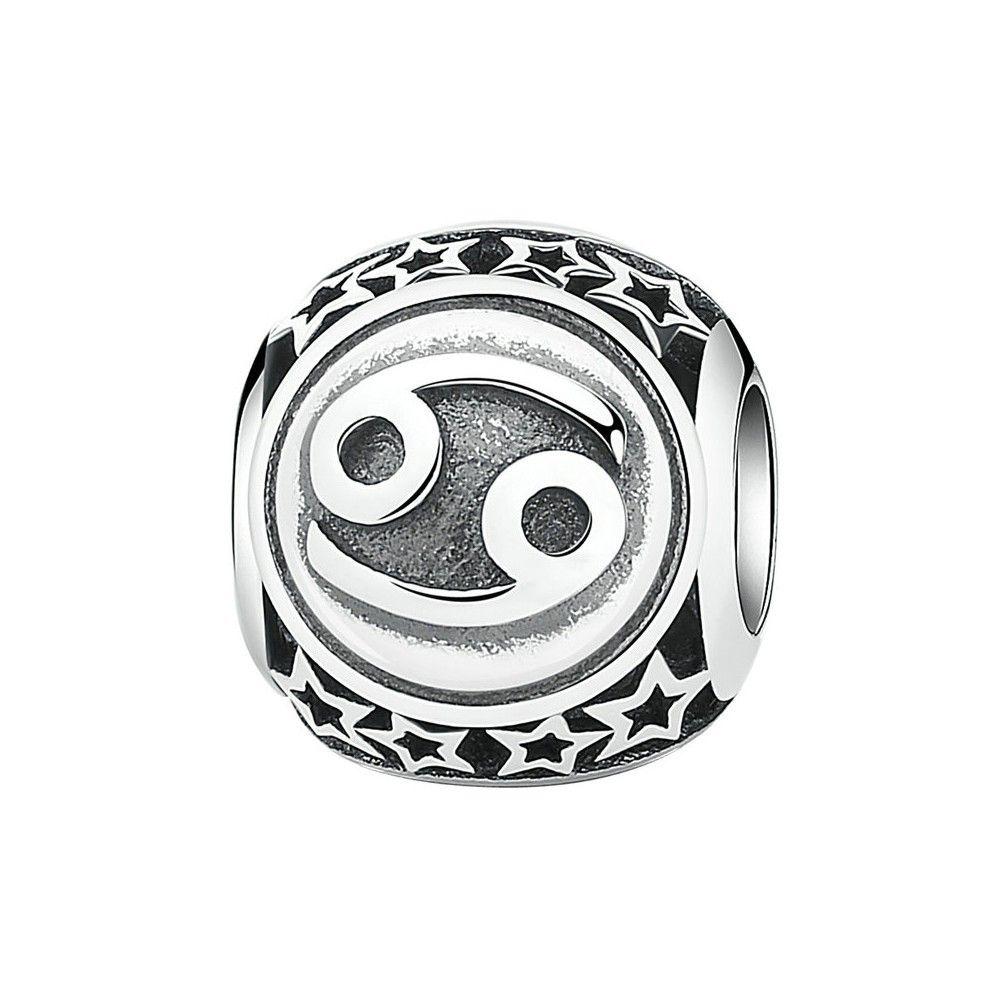 Zilveren bedel Sterrenbeeld Kreeft