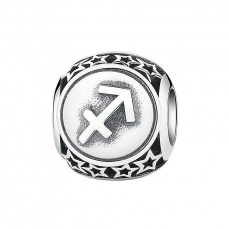 Sterling silver charm Zodiac sign Sagittarius