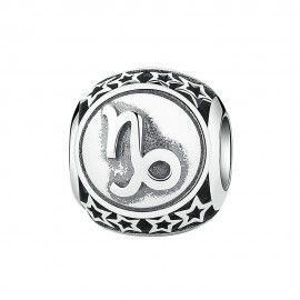 Sterling silver charm Zodiac sign Capricorn