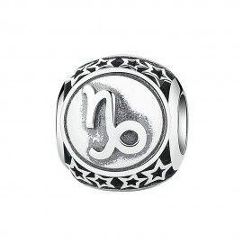 Sterling silver charm Zodiac sign Capricorn