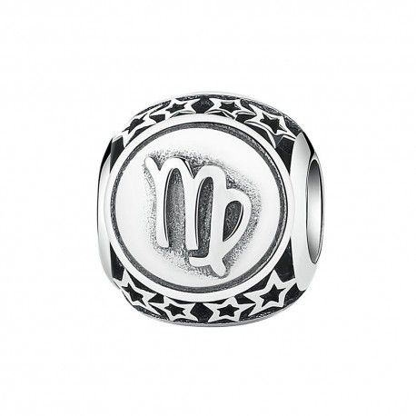 Sterling silver charm Zodiac sign Virgo
