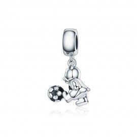 Sterling silver pendant charm Little bear