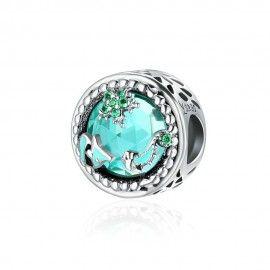 Sterling silver charm Mystery ocean