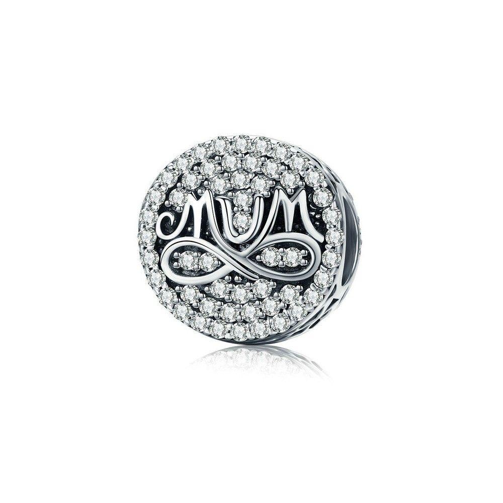 l'atteggiamento migliore a927a 5fae6 Charm in argento Amore infinito per mamma-Mijn bedels-per il tuo br...