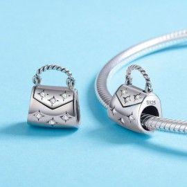 Sterling silver charm Handbag