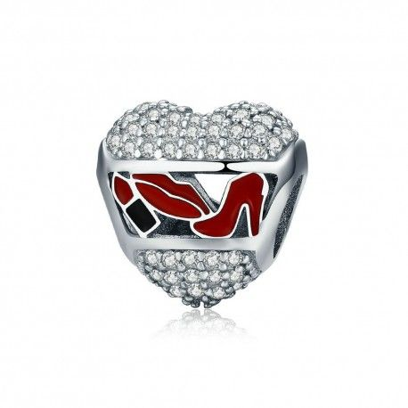 Sterling silver charm Love cosmetics