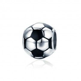 Sterling silver charm Football