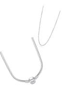 Sterling zilveren, lederen en roestvrijstalen halskettingen geschikt voor Pandora, Tedora, Trollbeads en alle andere bedels!